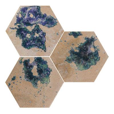 Apavisa Hutton Raku hexagon