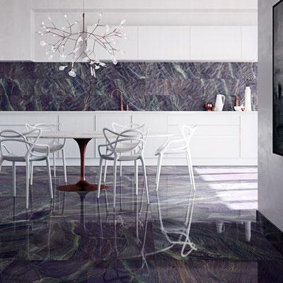 Aparici Vivid Lavender Granite