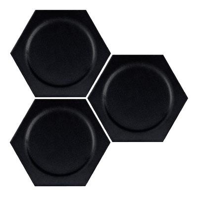 Intuition black circle hexagon