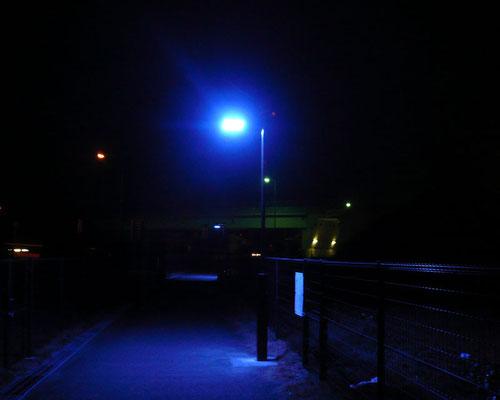 LED防犯灯(夜)