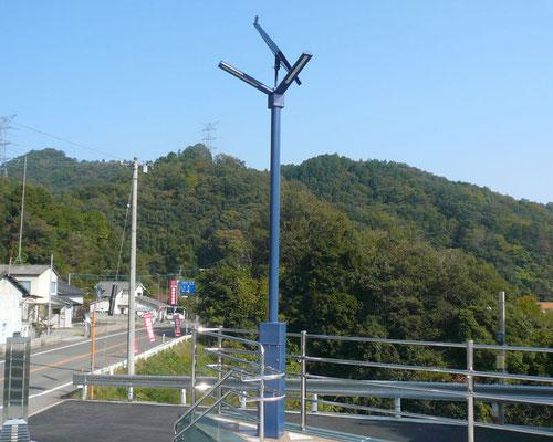 ソーラーLED照明灯(昼)公園