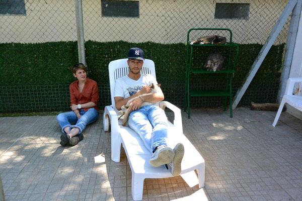 Mohamed et Bégonia, Julie Cémola