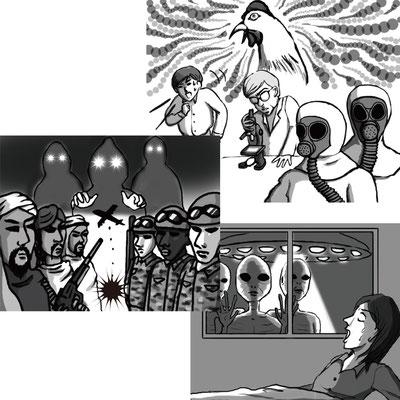 宝島社『CUTiE』2012年7月号 都市伝説企画