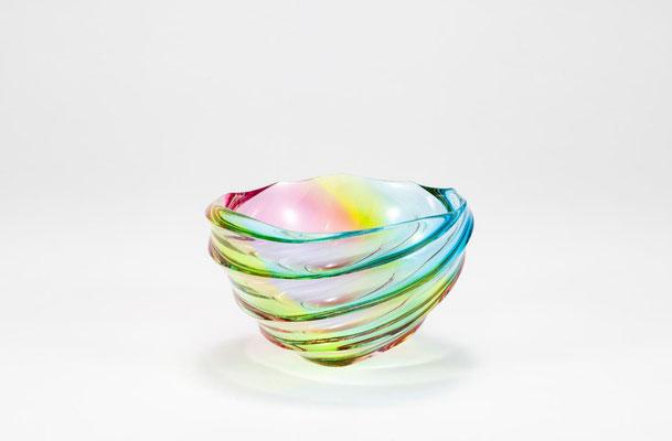 作品名 光の彩 ガラス 靏林 舞美