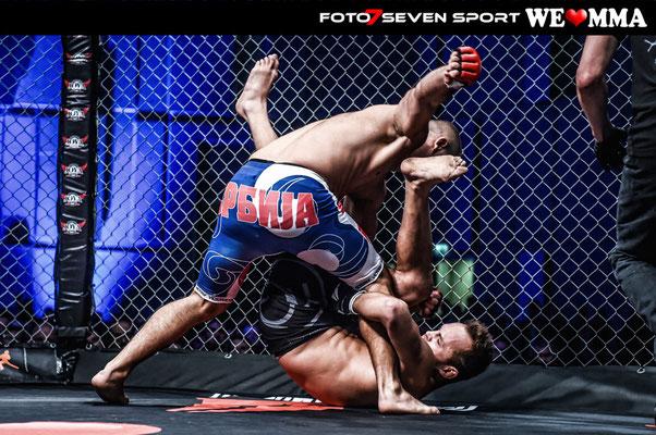 Roman Kapranov (RFS Team Carlson Gracie Deutschland) vs Uveric Nemanja (Combat Crew - Cobras Fightclub Karlsruhe)