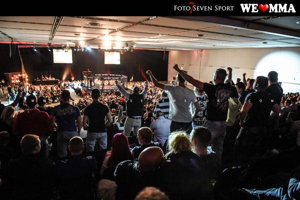 HALLE 1 der Messe Dresden - We Love MMA - Foto Seven Sport
