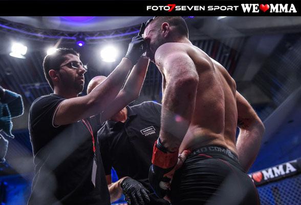 Igor Montes (Stallion Cage Stuttgart) vs Sven Groten (Wolfpack Cologne)