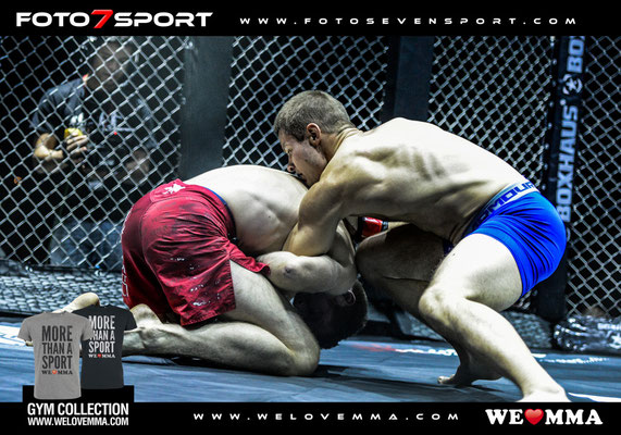 Olaf Hommel (Combat Team Hamburg) vs. Philemon Schibli (Combat Club Cologne)