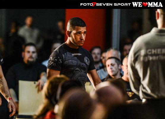 Tobias Thiago Huber (Kongs Gym Stuttgart) vs. Safak Aktop (Pride Gym Düsseldorf)