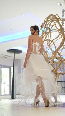 Création robe de mariée Toulouse Laurie Elma - Belle de nuit