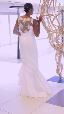 Robe de mariée Créations Laurie Elma - Tama