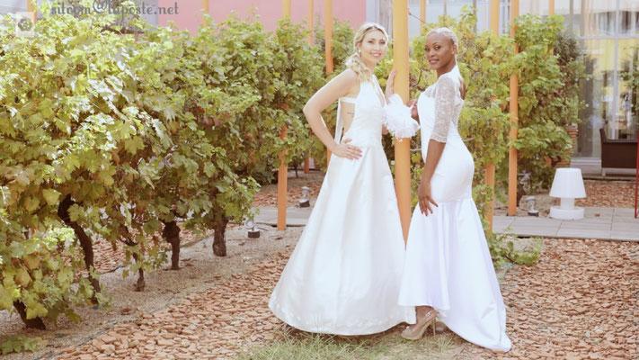 Création robe de mariée Toulouse Laurie Elma- Coeur et Tacca