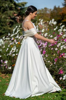 Robe de mariée Créations Laurie Elma - Nude