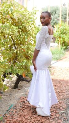 Créatrice robe de mariée Toulouse Laurie Elma - Coeur