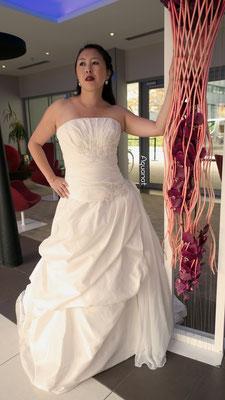 Création robe de mariée Créations Laurie Elma - Carmen