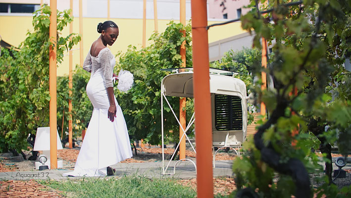 Création robe de mariée Toulouse Laurie Elma- Coeur