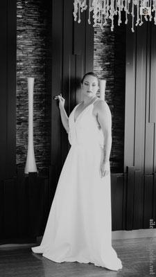 Création robe de mariée Créations Laurie Elma - Nude
