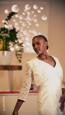 Créatrice robe de mariée sur mesure Toulouse Laurie Elma- Sirène