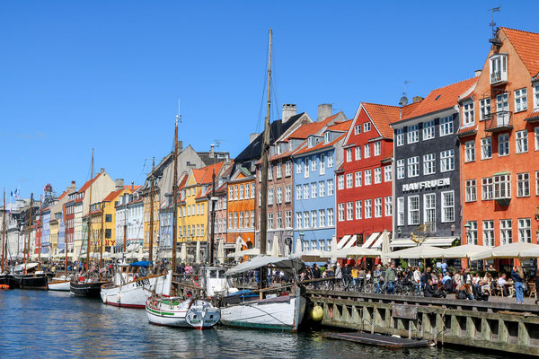 Der Hafen Nyhavn zählt zu den bekanntesten Sehenswürdigkeiten Kopenhagens. Foto: pixabay