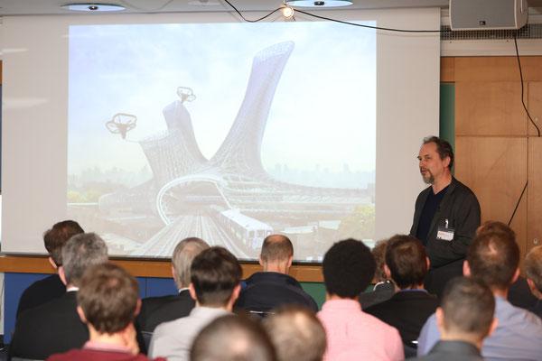 Auch ein Zukunftsthema: Neue Carbonfaserbewehrung für den Beton-3D-Druck von Prof. Dr.-Ing. Viktor Mechtcherine, Technische Universität Dresden.