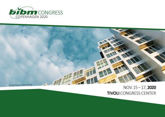 Der 23. BIBM-Kongress findet im Tivoli Congress Center in Kopenhagen statt.
