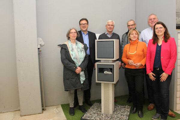 Die Jury des Betonwerksteinpreises für Gestaltung; Foto: FBB