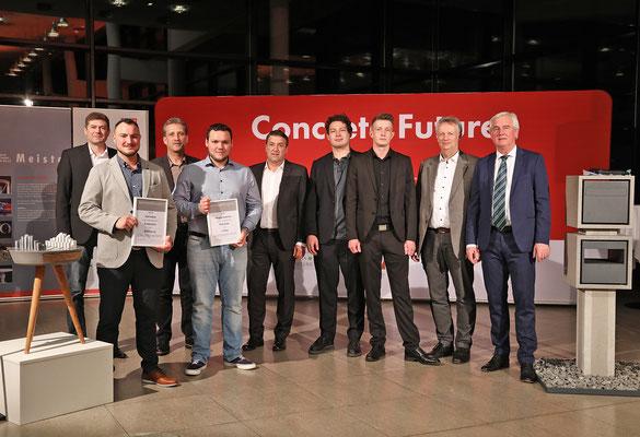 Der Meisterkurs 2019 mit Verantwortlichen der Schule und dem Vorsitzenden des FBB.