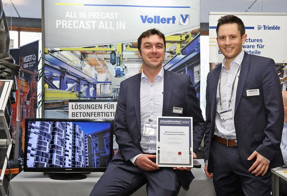 Den zweiten Platz machte die Vollert Anlagen GmbH aus Weinsberg.