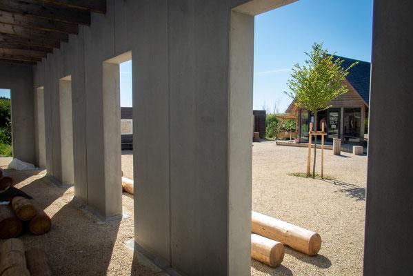 Schöne Aussichten, dank Beton. Foto: Campus Galli
