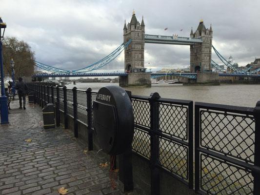 Tower Bridge und ein Geocache