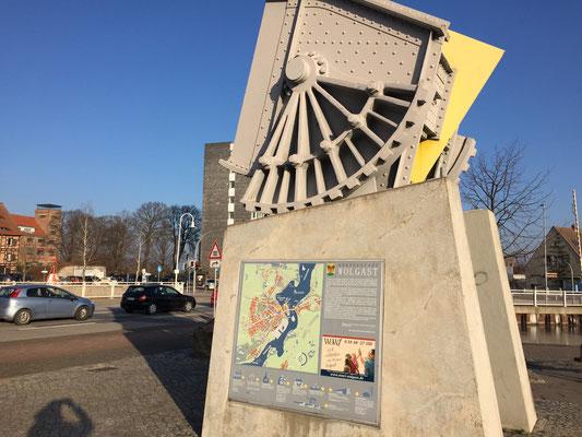 Ein paar Infos über Wolgast und die Hebebrücke