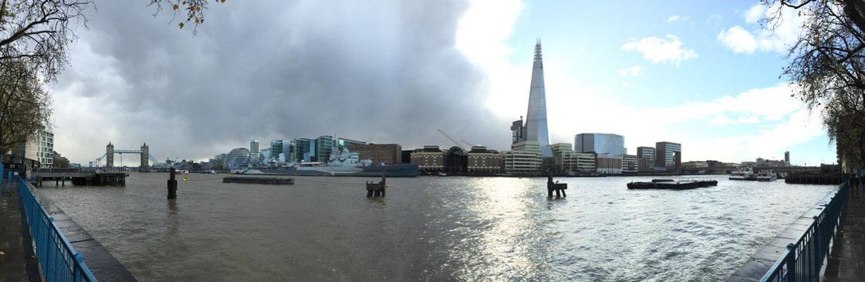 Das Wetter teilt die Stadt