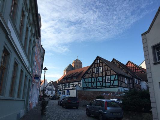 Die Altstadt von Wolgast