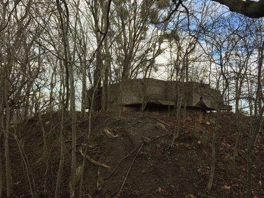 Ein alter Bunker