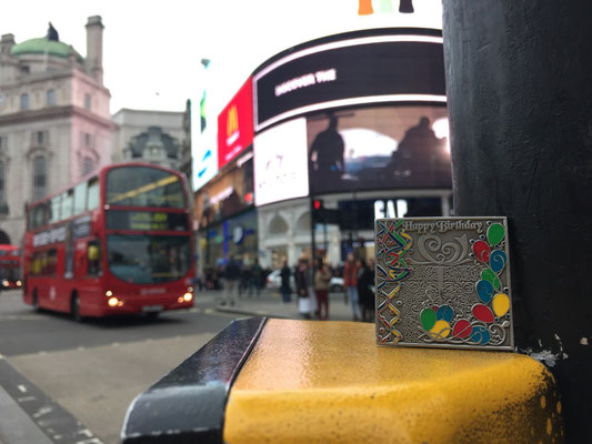 Coin goes to London