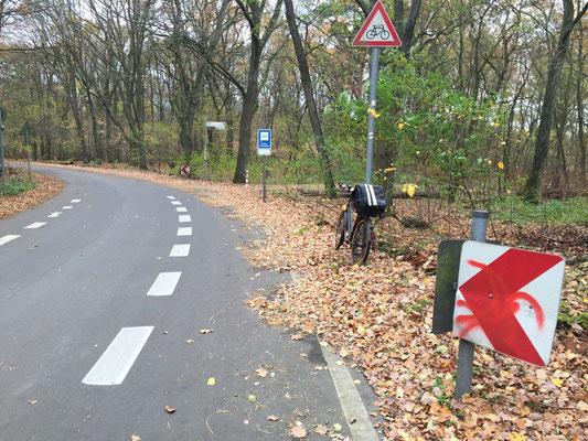 Cache 1 - Ein Straßenschild