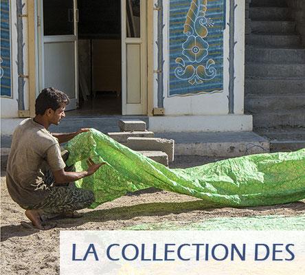 Tissu indien au metre pour l'habillement, la décoration de la maison, etc.