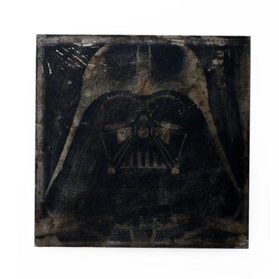 Foto auf Rost, darth vader, Star Wars, Foto auf Metall, Bild auf Metall, Fotokunst, E116/1