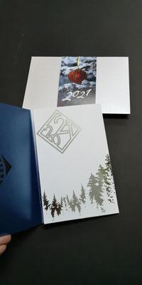 корпоративные новогодние открытки купить