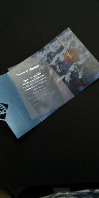 красивые новогодние открытки, стильные корпоративные открытки