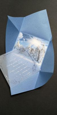 Новогодняя открытка, открытка с новым годом.. со снежинками, корпоративная открытка.