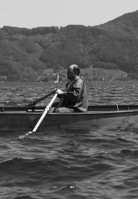 als Gustav Klimt für ein Filmprojekt (Foto Weidinger Alfred)