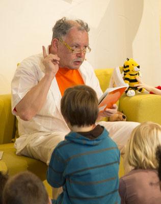 beim Janosch Vorlesetag (Foto Maritsch Michael)