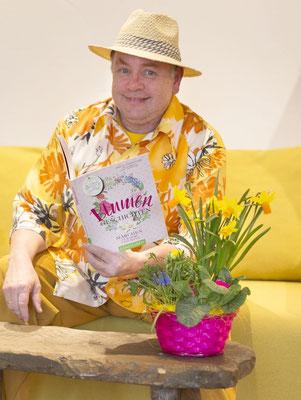 als Blumenfreund (Foto Maritsch Michael)