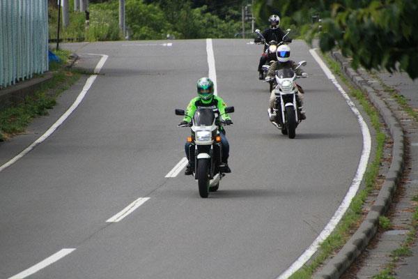 バイク女子