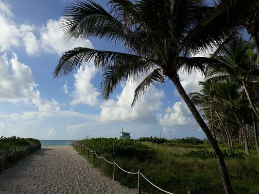 8h45 direction la plage !!!