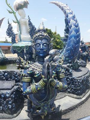fontaine qui accueille les visiteurs
