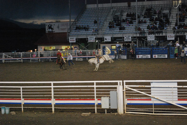 Rodeo à Cody, ville de Buffalo Bill