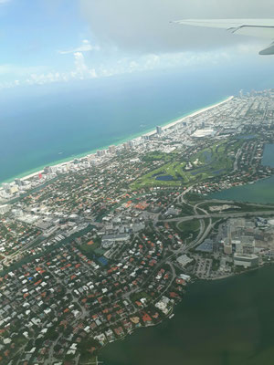 19/07/2017: Survol de Miami beach