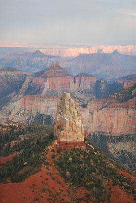 Vue sur le Canyon, point imperial